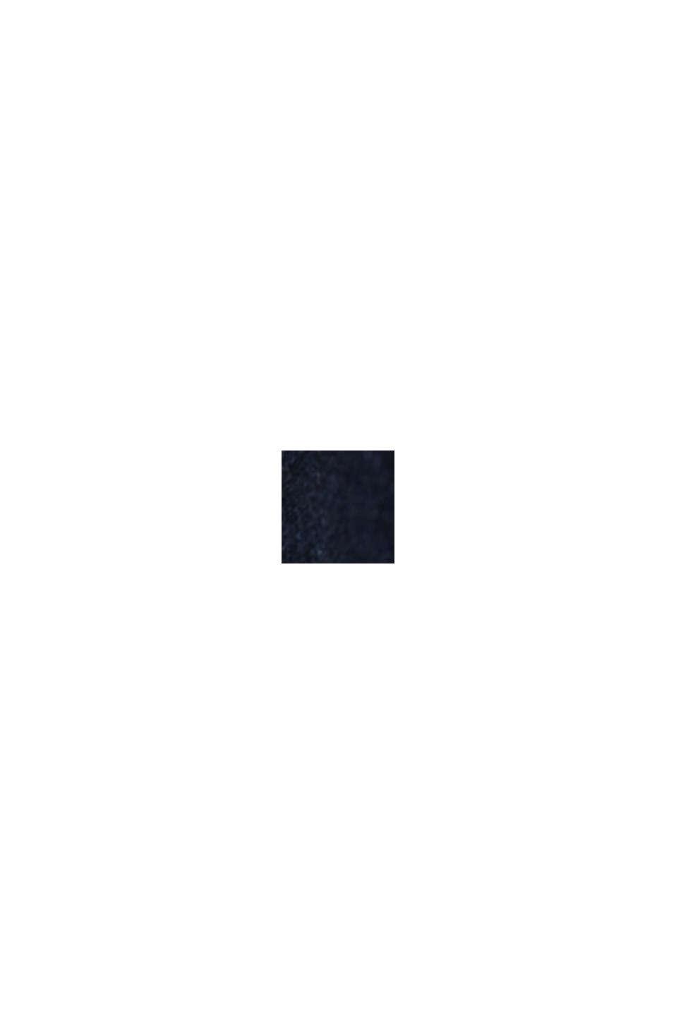 Farkkushortsit pehmeää verkkarimateriaalia, BLUE RINSE, swatch
