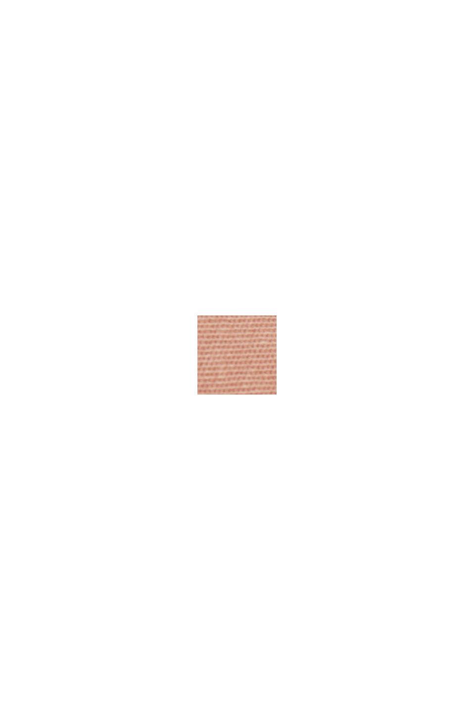 Med bælte: bermudashorts i bomuldsstretch, NUDE, swatch
