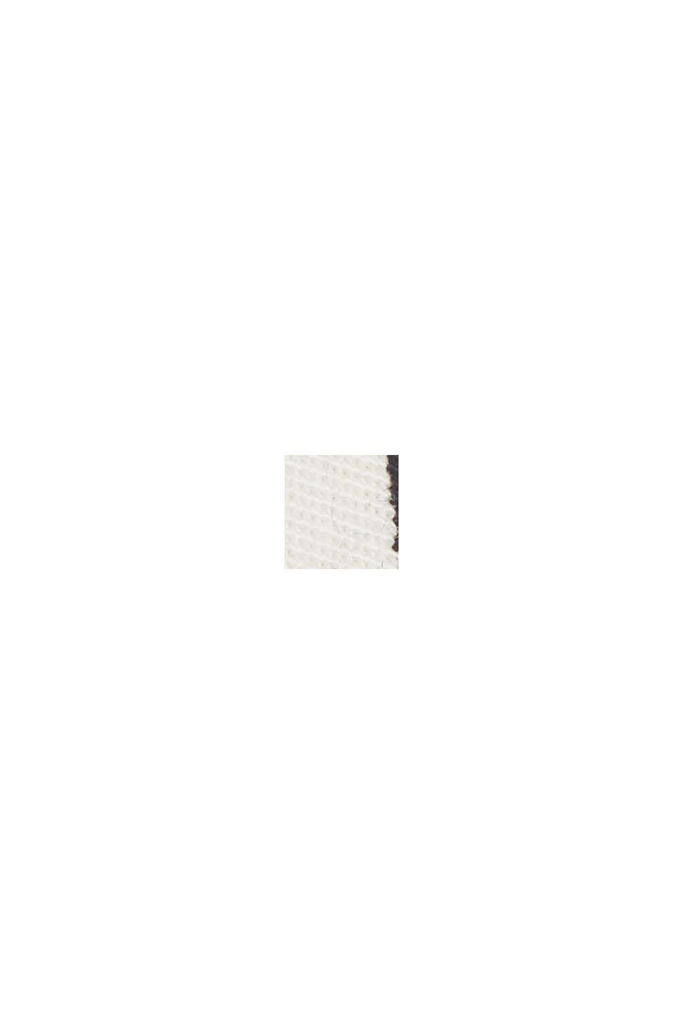 Med bælte: bermudashorts i bomuldsstretch, NEW OFF WHITE, swatch