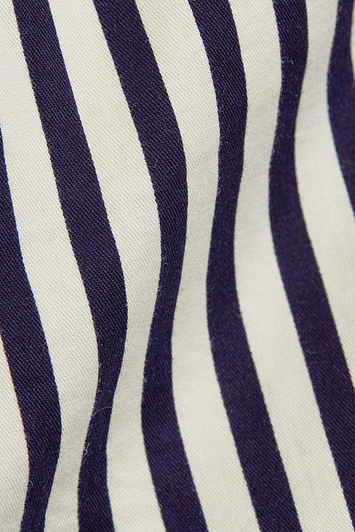 Met riem: bermuda van katoen-stretch, OFF WHITE COLORWAY, detail image number 4