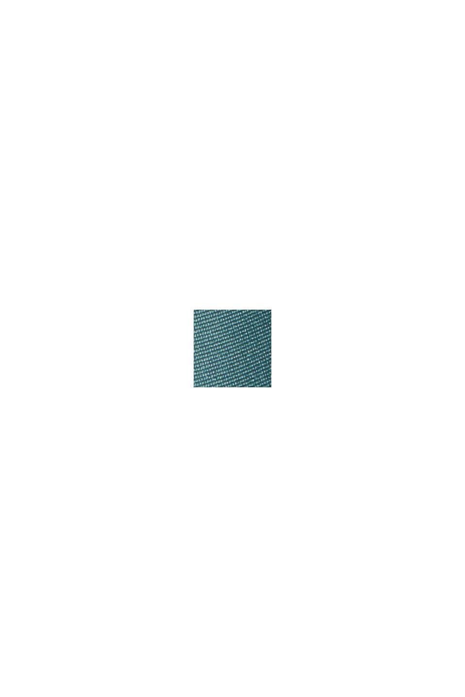 Plisseerock mit Gummibund, TEAL BLUE, swatch