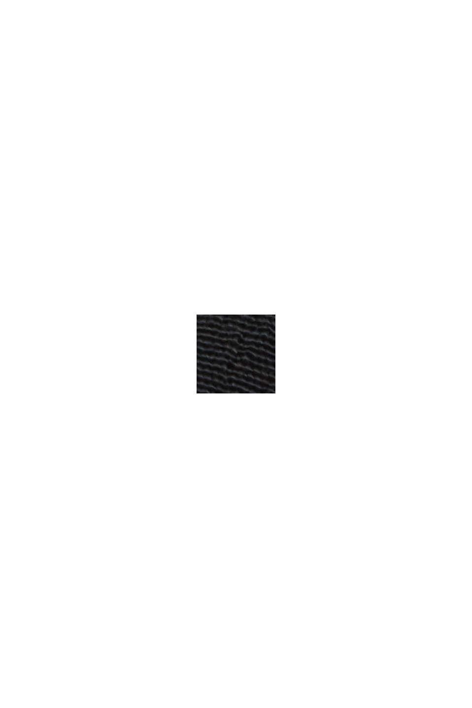 Blouse van LENZING™ ECOVERO™-viscose, BLACK, swatch