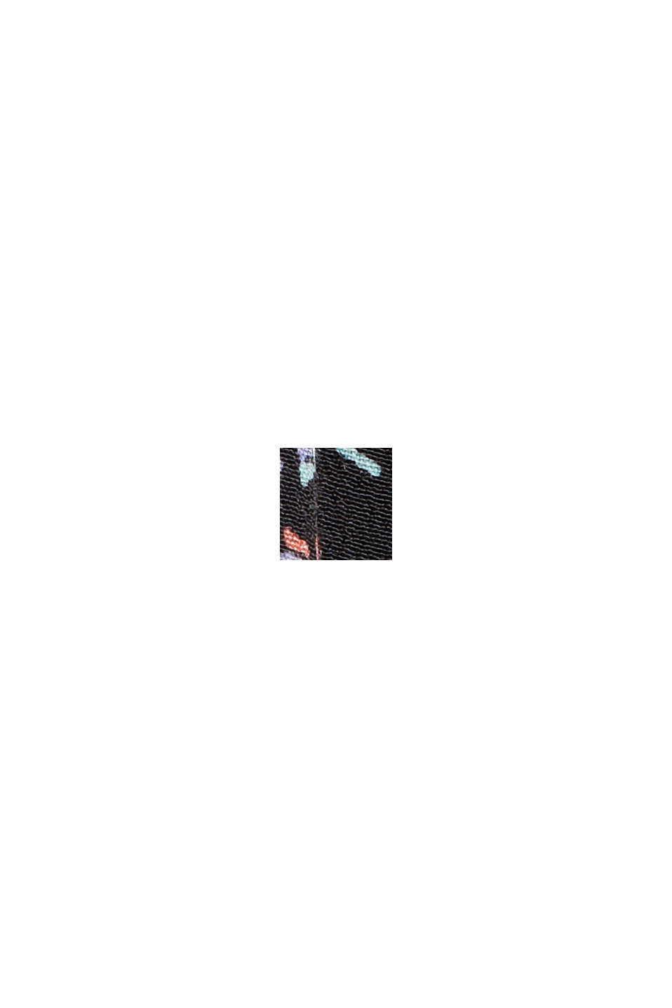 Blusa in viscosa LENZING™ ECOVERO™, BLACK, swatch