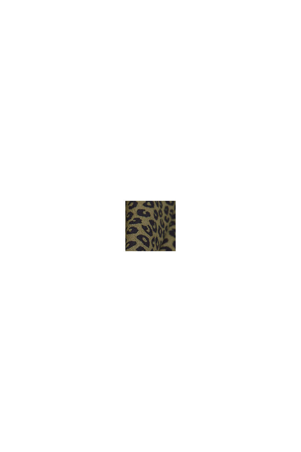 Blusa in viscosa LENZING™ ECOVERO™, KHAKI GREEN, swatch