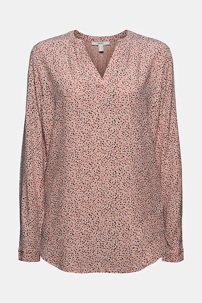 Blouse made of LENZING™ ECOVERO™ viscose, LIGHT PINK, detail image number 6