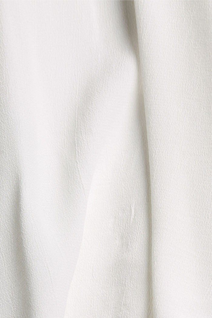 CURVY blouse made of LENZING™ ECOVERO™, OFF WHITE, detail image number 4