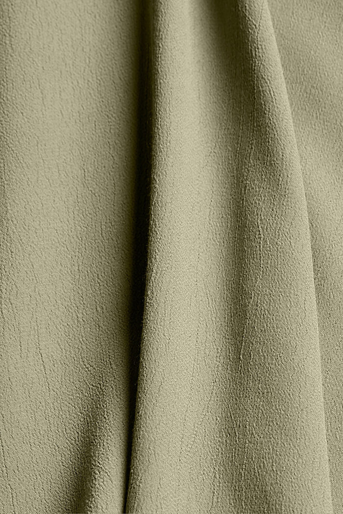 CURVY LENZING™ ECOVERO™ -pusero, LIGHT KHAKI, detail image number 4