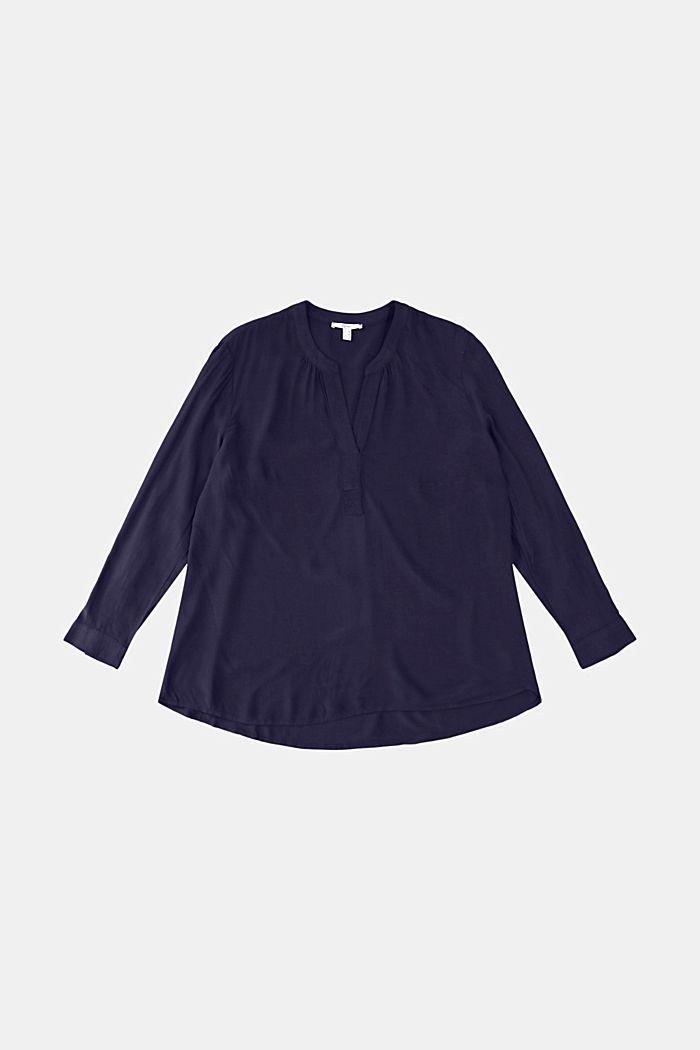 CURVY blouse made of LENZING™ ECOVERO™