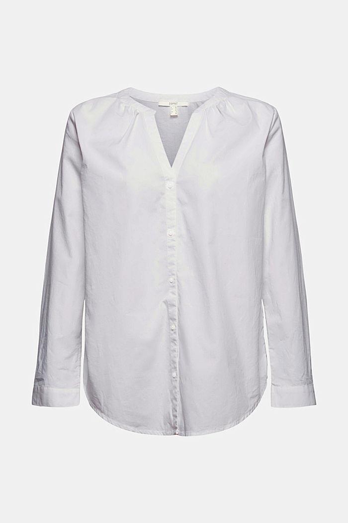 Bluse aus 100% Bio-Baumwolle