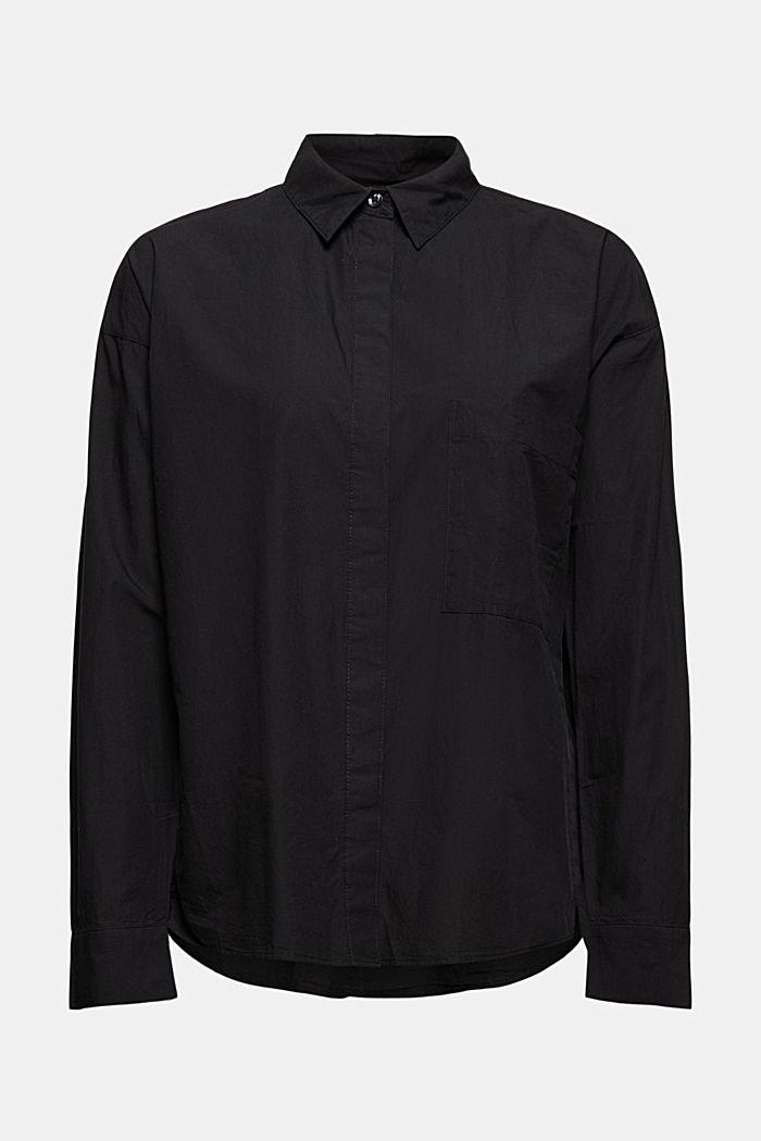 Oversize-Hemdbluse aus 100% Organic Cotton