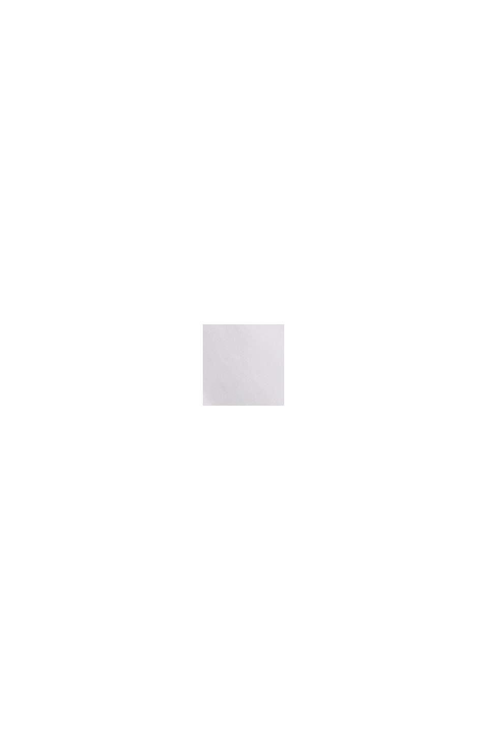 Oversized overhemdblouse van 100% biologisch katoen, WHITE, swatch