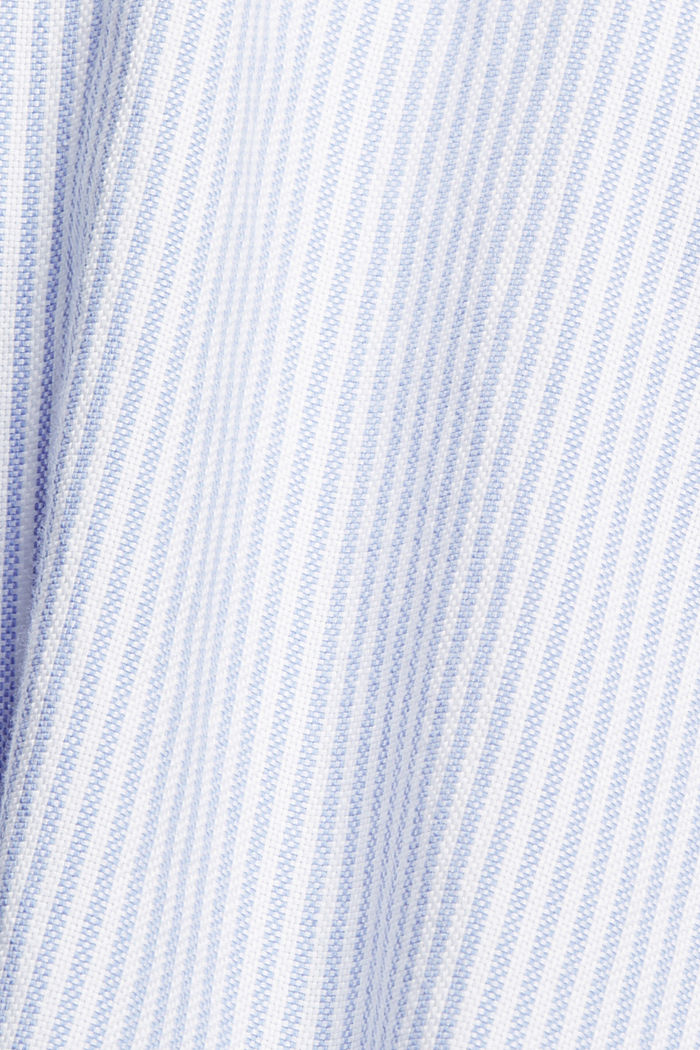 Chemisier, 100% coton biologique, PASTEL BLUE, detail image number 4