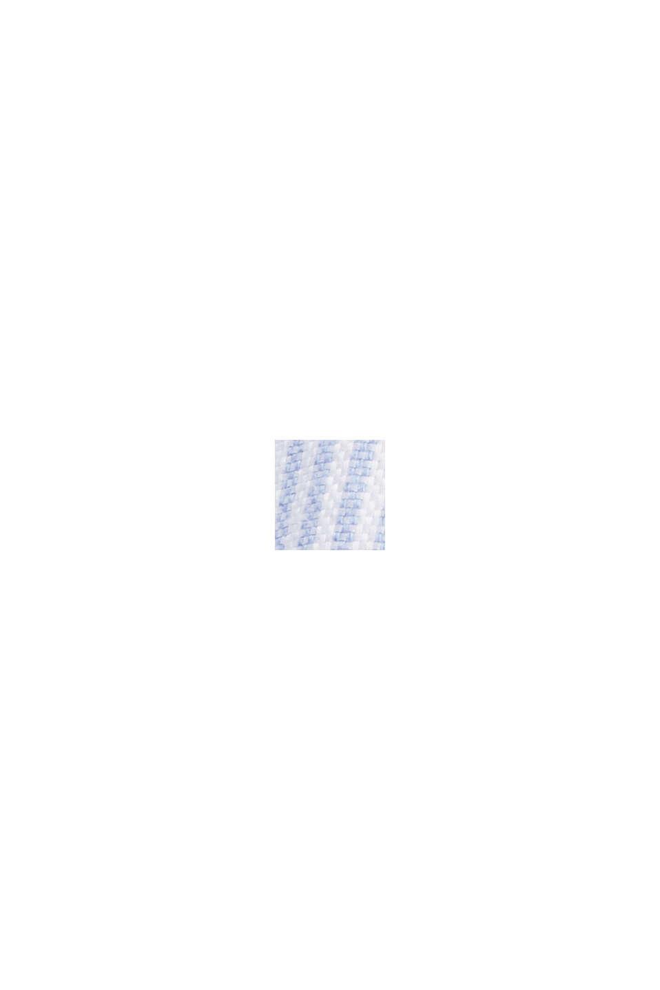 Overhemdblouse van 100% organic cotton, PASTEL BLUE, swatch