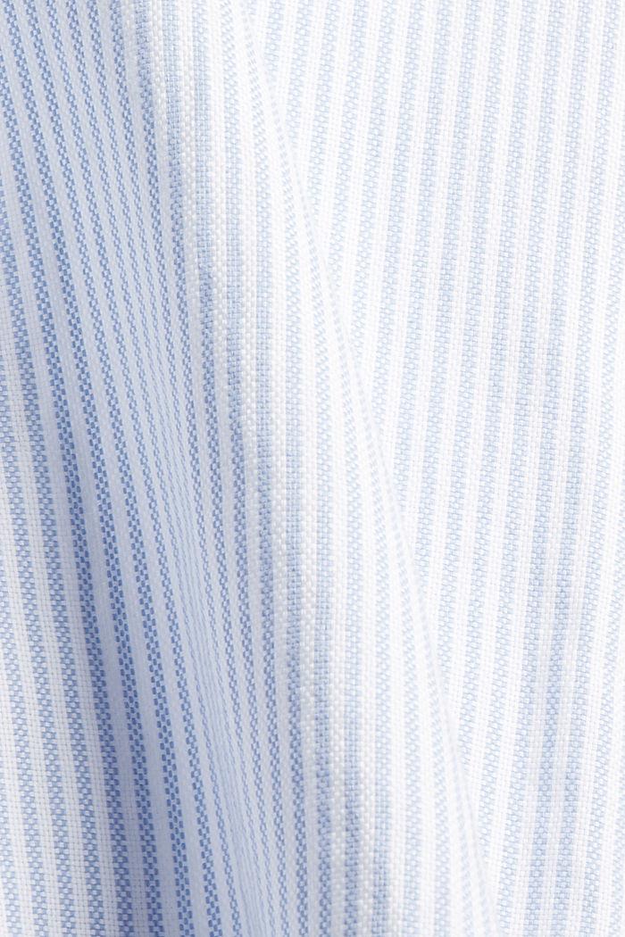 Overhemdblouse van 100% organic cotton, PASTEL BLUE, detail image number 4