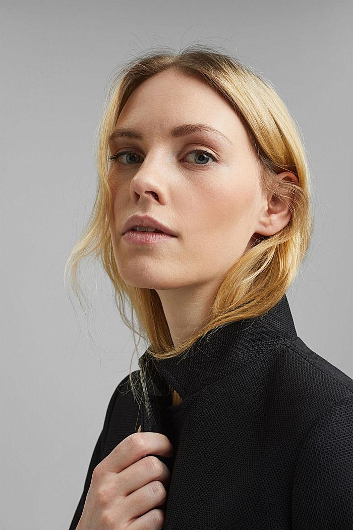 Coat, BLACK, detail image number 6