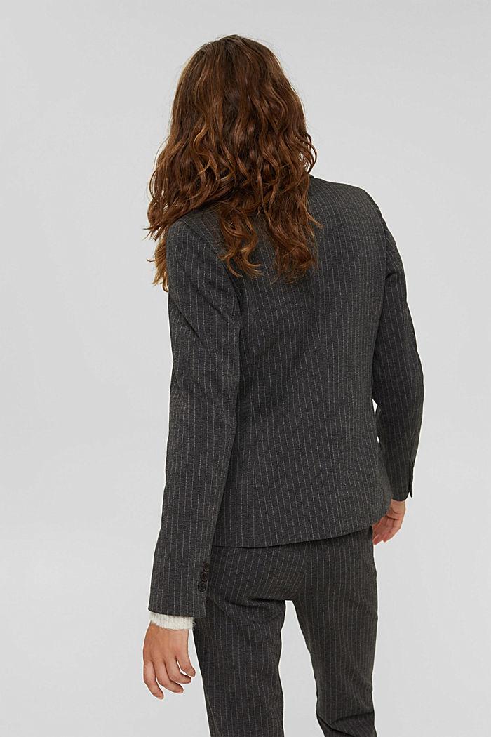 PINSTRIPE mix + match jogg-blazer, ANTHRACITE, detail image number 3