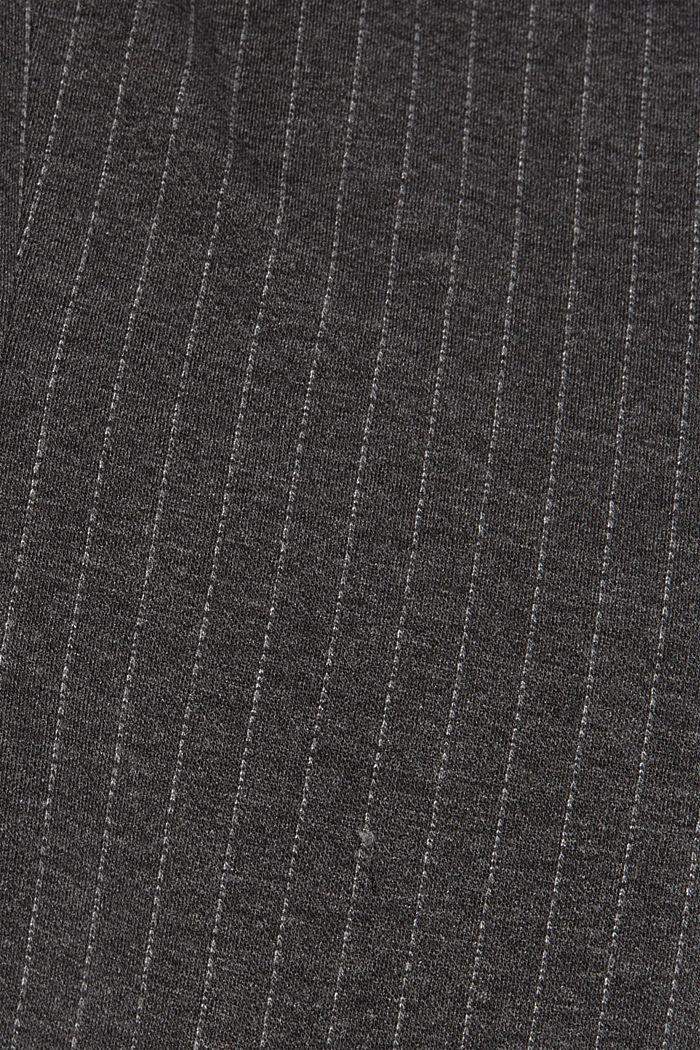 PINSTRIPE mix + match jogg-blazer, ANTHRACITE, detail image number 4