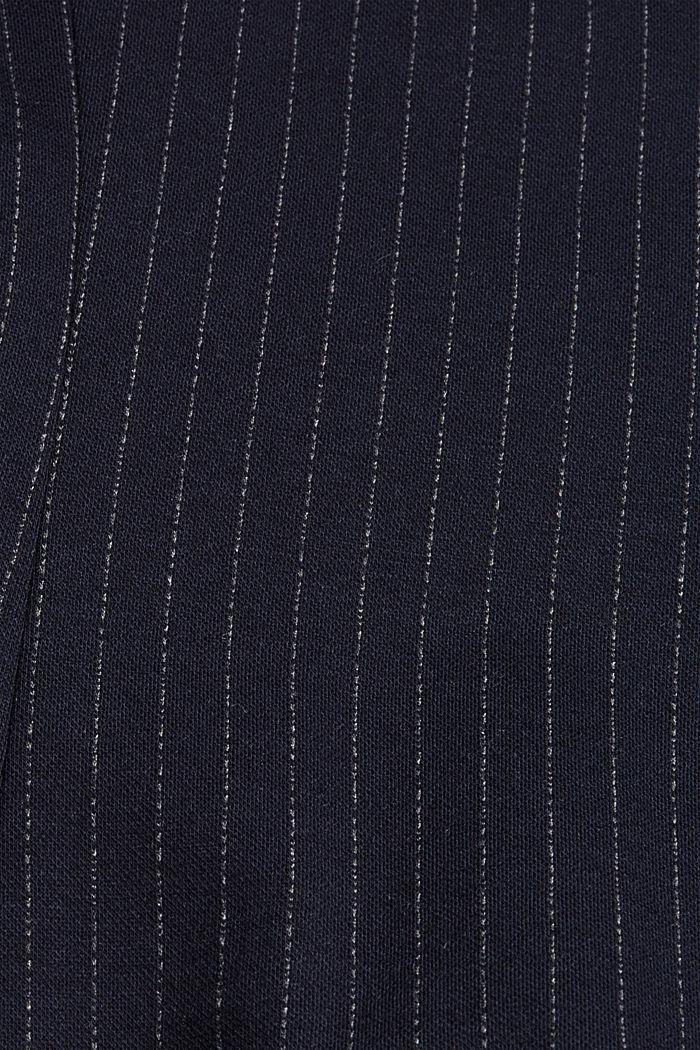 PINSTRIPE mix + match jogg-blazer, NAVY, detail image number 4