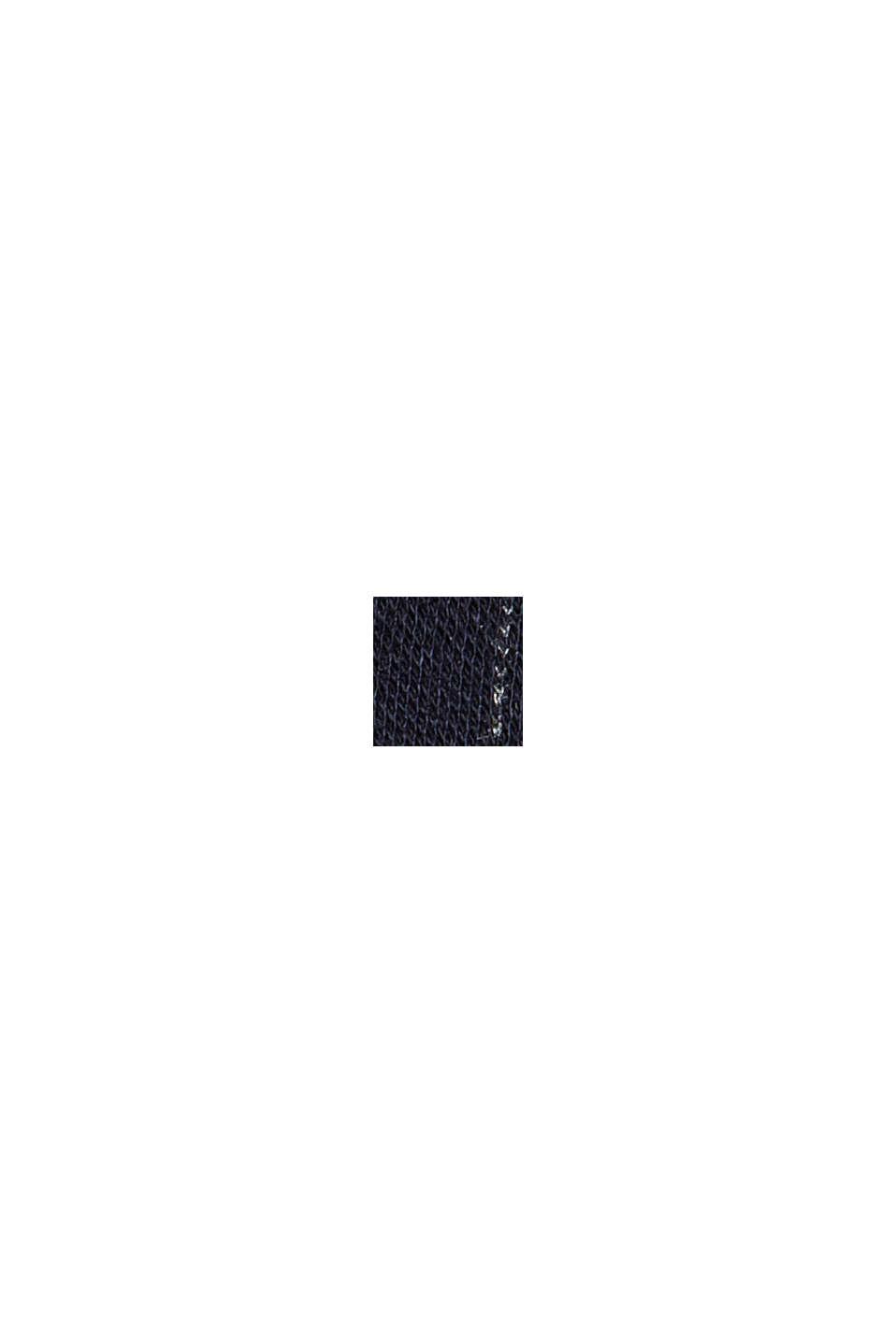 PINSTRIPE Mix + Match Żakiet w dresowym stylu, NAVY, swatch