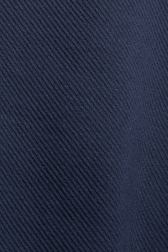 Giacca squadrata con struttura in twill, NAVY, detail image number 4