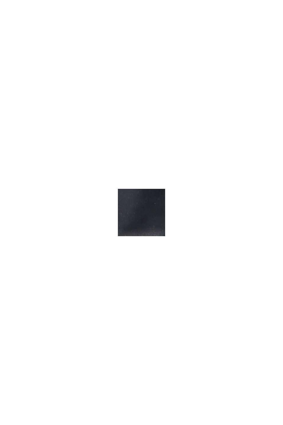 Återvunnet material: superlätt quiltad väst med huva, BLACK, swatch