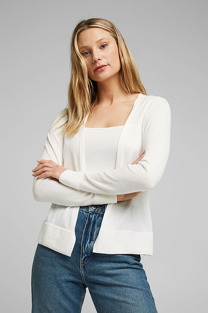 Cardigan mit Organic Cotton