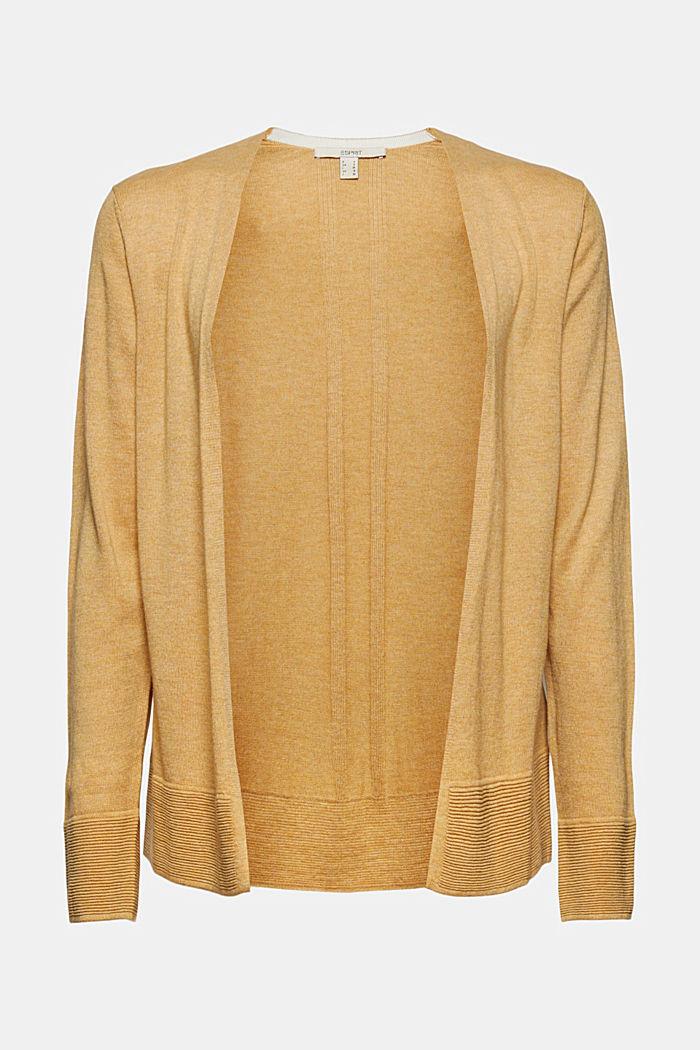 Cardigan mit Organic Cotton, KHAKI BEIGE, detail image number 5