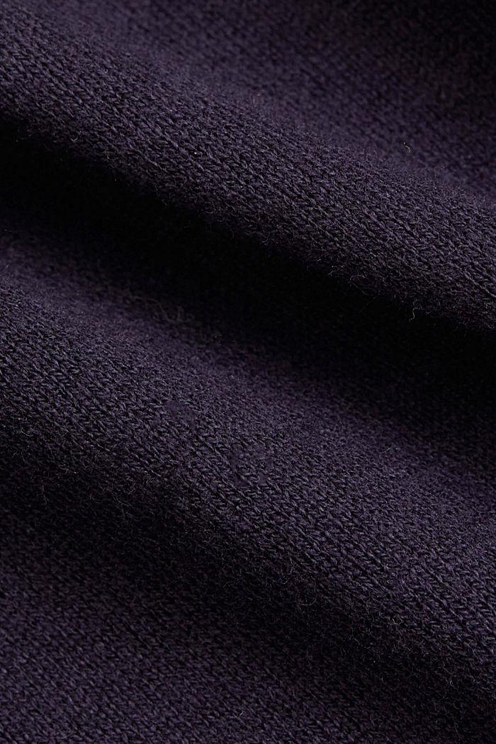 Cardigan mit Organic Cotton, NAVY, detail image number 4