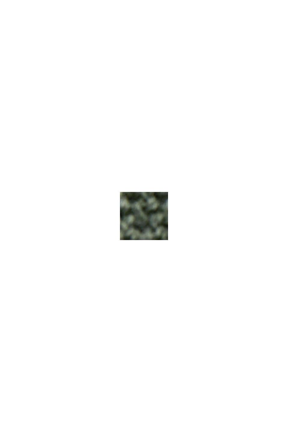 Pullover con scollo a V in cotone biologico, KHAKI GREEN, swatch