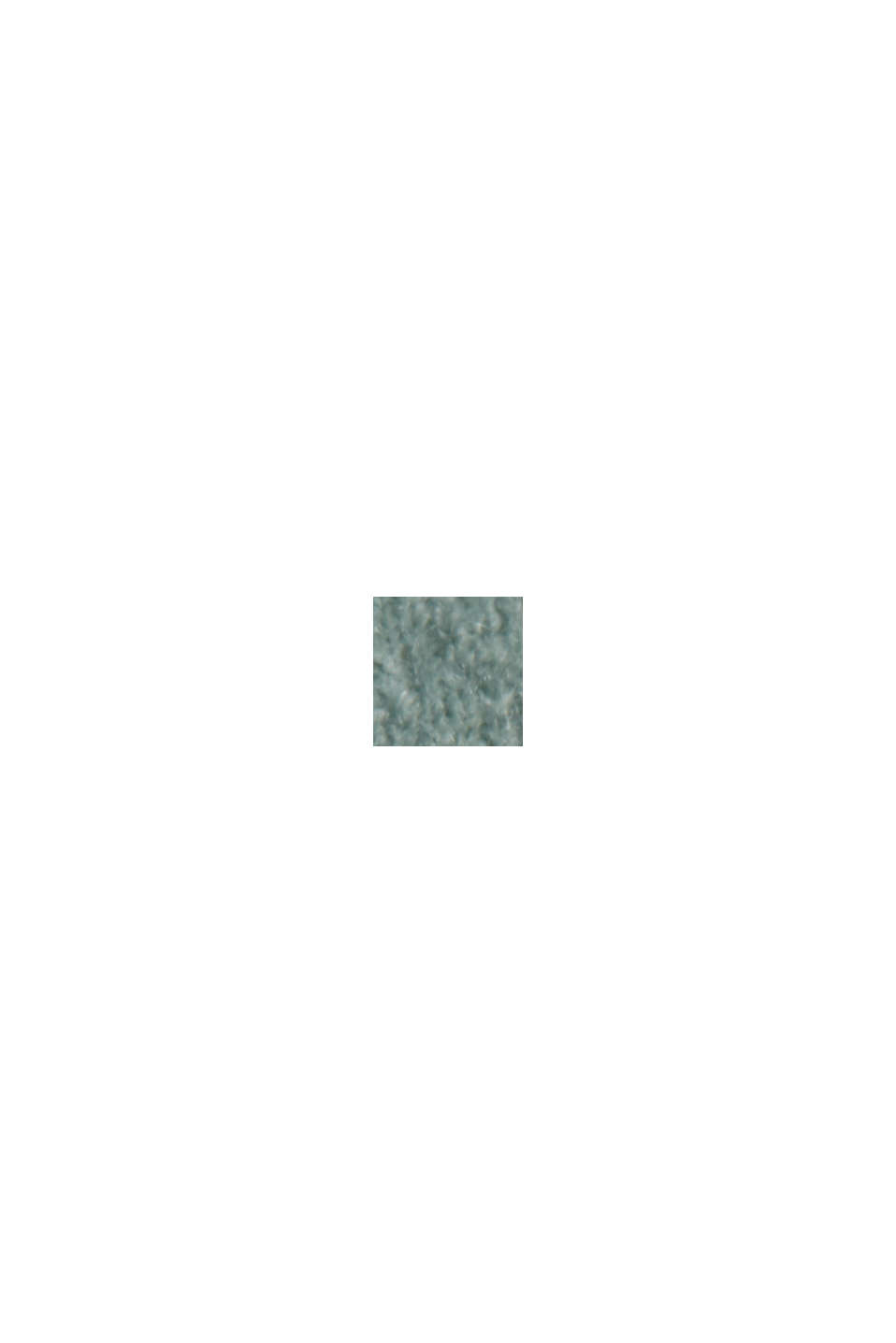 Z wełną: kardigan z dekoltem w serek, DUSTY GREEN, swatch