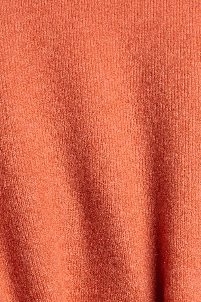À teneur en laine: cardigan à encolure en V, BLUSH, detail image number 4