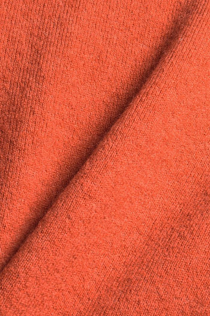À teneur en laine : le pull-over à col droit, BLUSH, detail image number 4