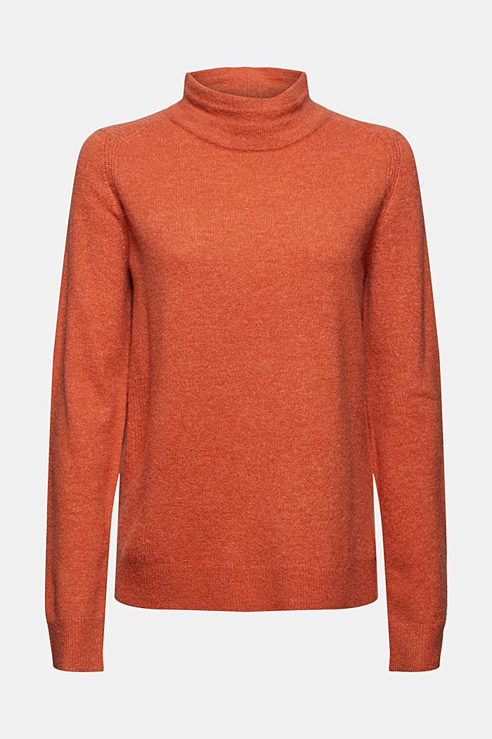 À teneur en laine : le pull-over à col droit, BLUSH, detail image number 6