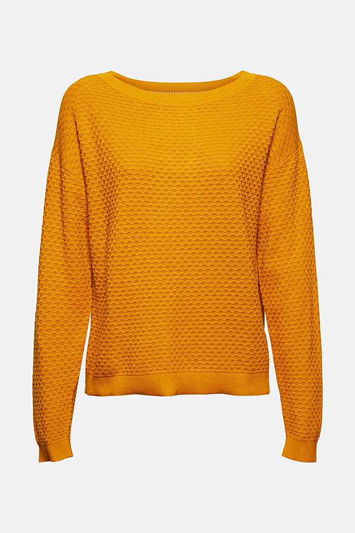 Sweaters, HONEY YELLOW, detail image number 6