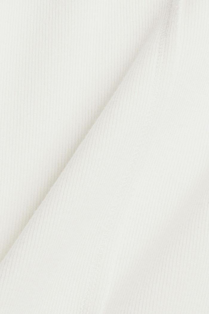 Felpa in misto cotone biologico, OFF WHITE, detail image number 3