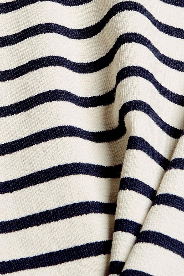 Sweatshirt made of 100% organic cotton, OFF WHITE, detail image number 4