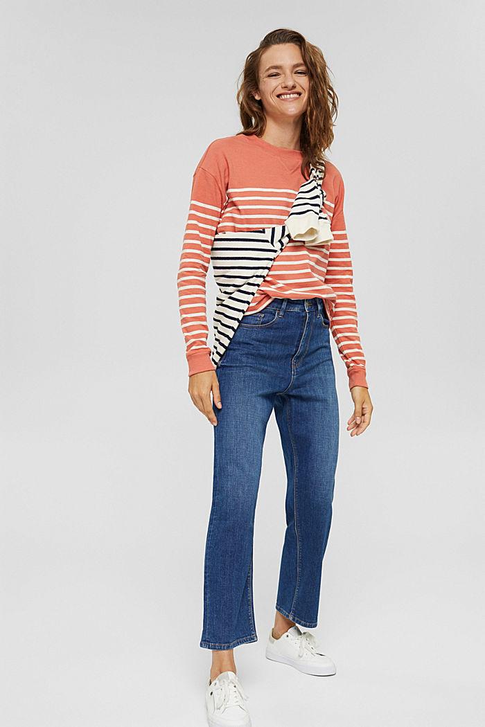 Sweatshirt made of 100% organic cotton, BLUSH, detail image number 1