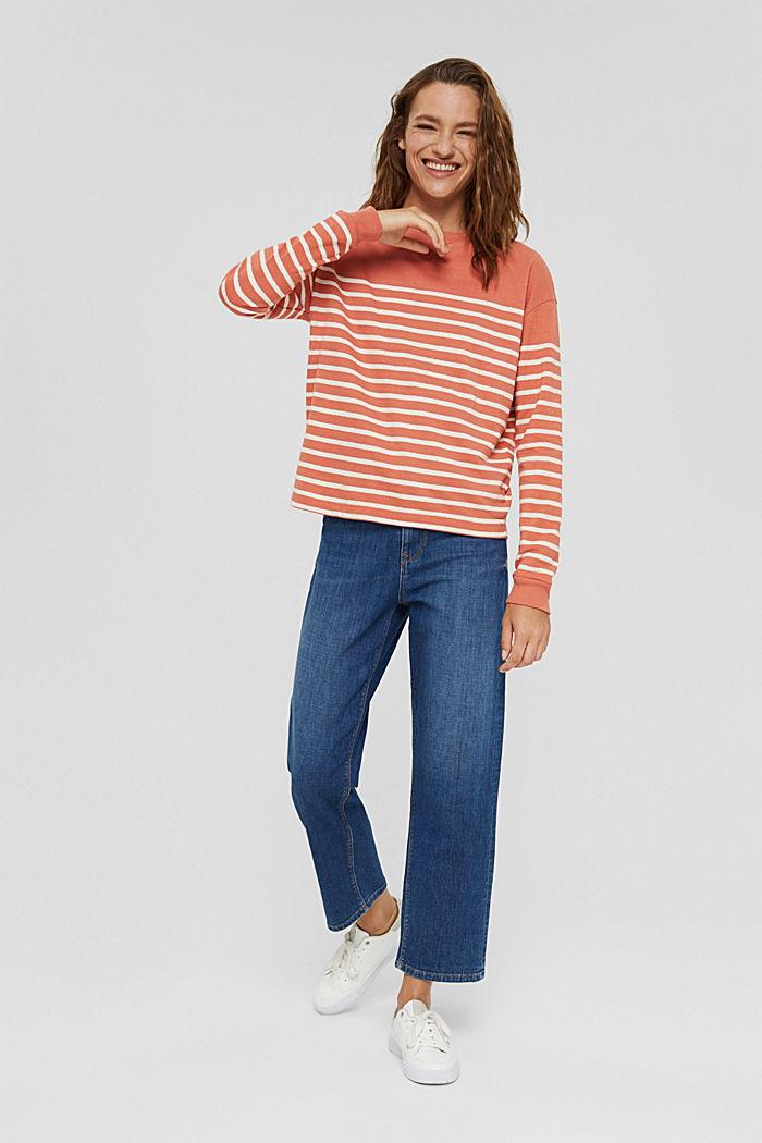 Sweatshirt made of 100% organic cotton, BLUSH, detail image number 7