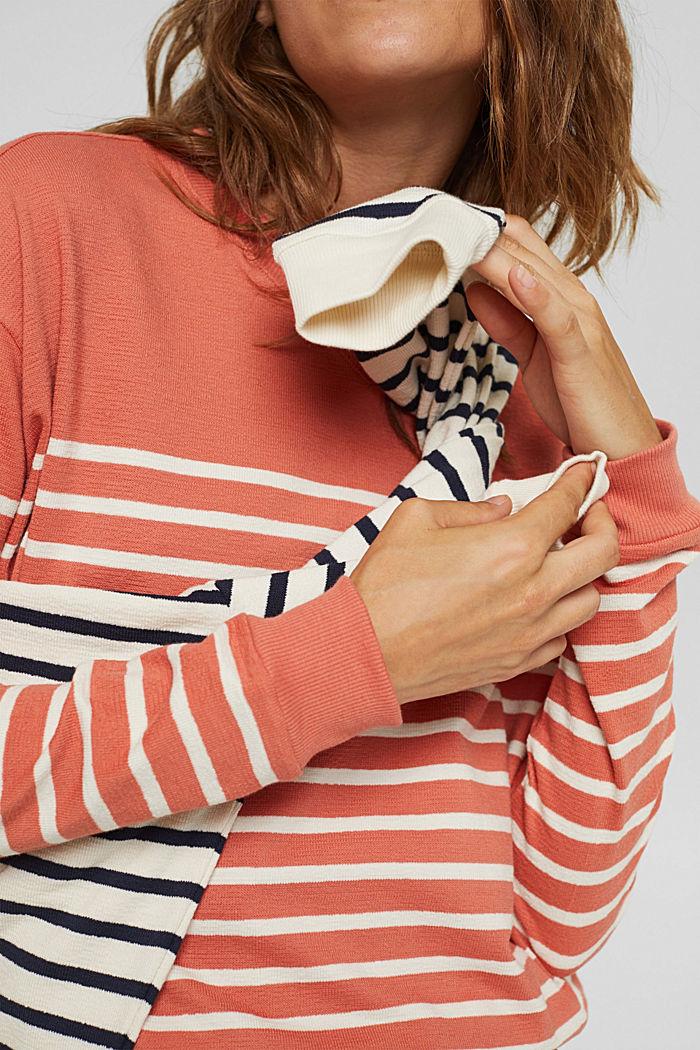 Sweatshirt made of 100% organic cotton, BLUSH, detail image number 2