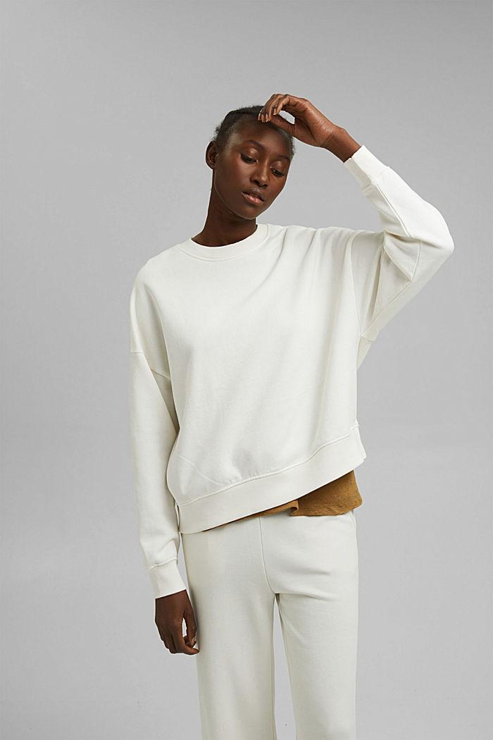Sweat-shirt 100% coton biologique
