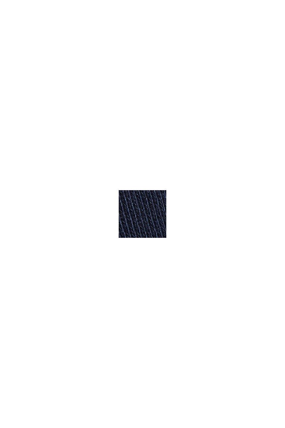 Sweat-shirt 100% coton biologique, NAVY, swatch