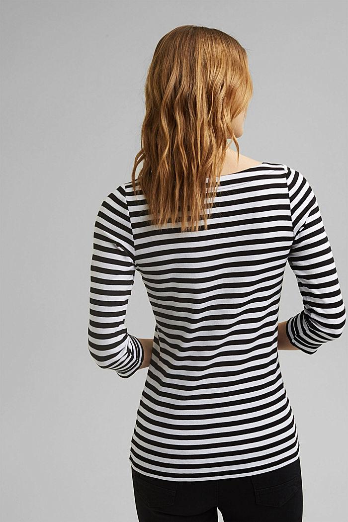 T-shirt 100% coton bio, BLACK, detail image number 3