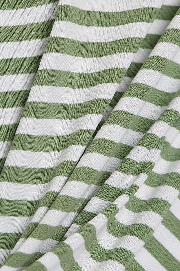 Longsleeve van 100% organic cotton, LEAF GREEN, detail image number 4