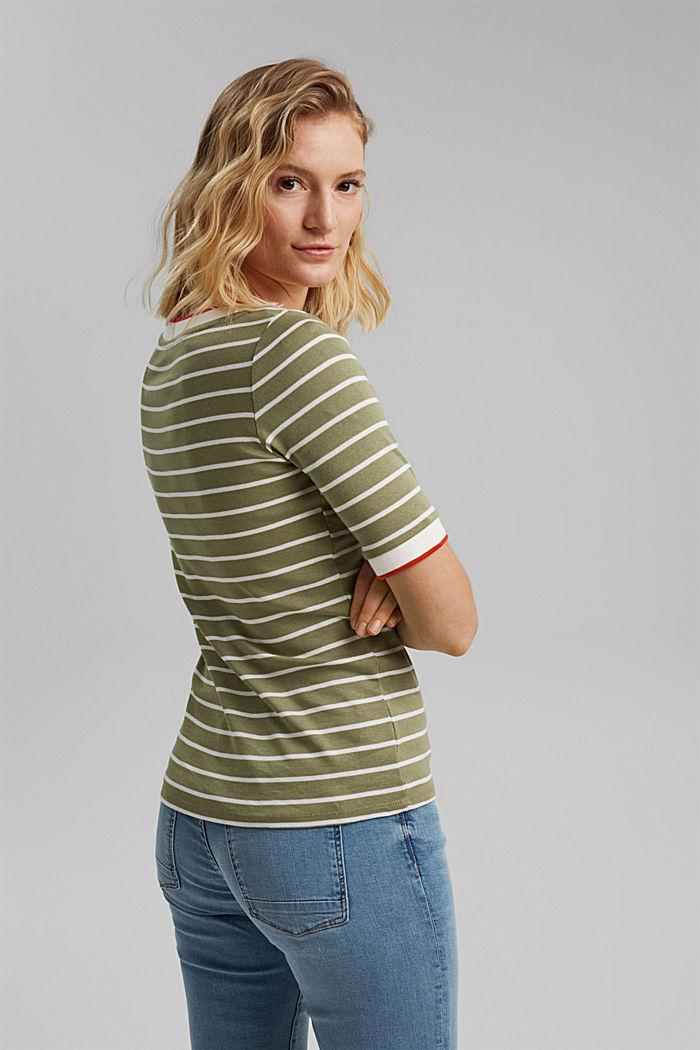 T-shirt made of 100% organic cotton, LIGHT KHAKI, detail image number 3
