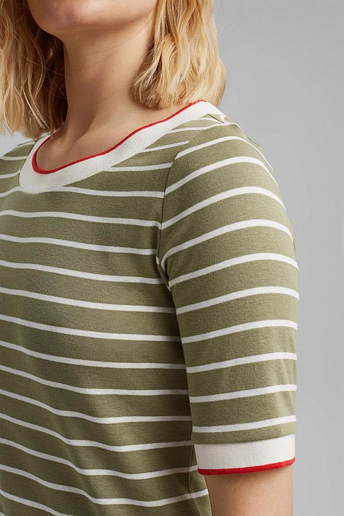 T-shirt made of 100% organic cotton, LIGHT KHAKI, detail image number 2
