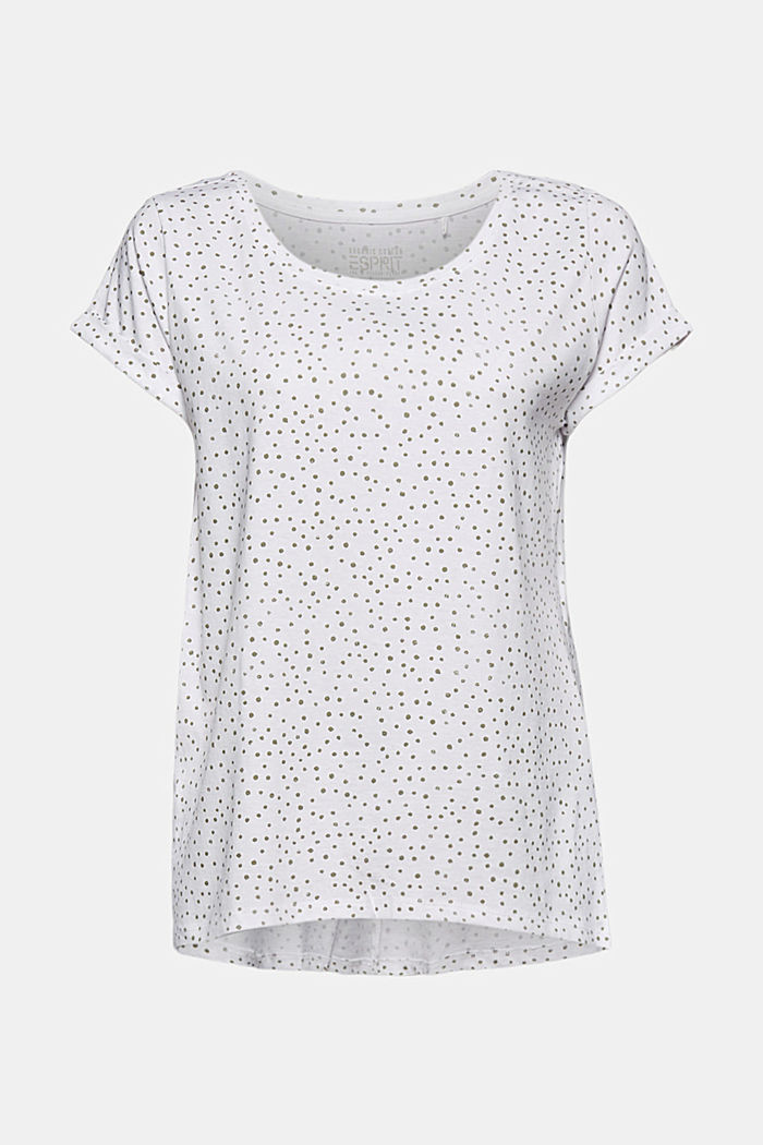 Printed T-shirt, 100% organic cotton, WHITE, detail image number 6
