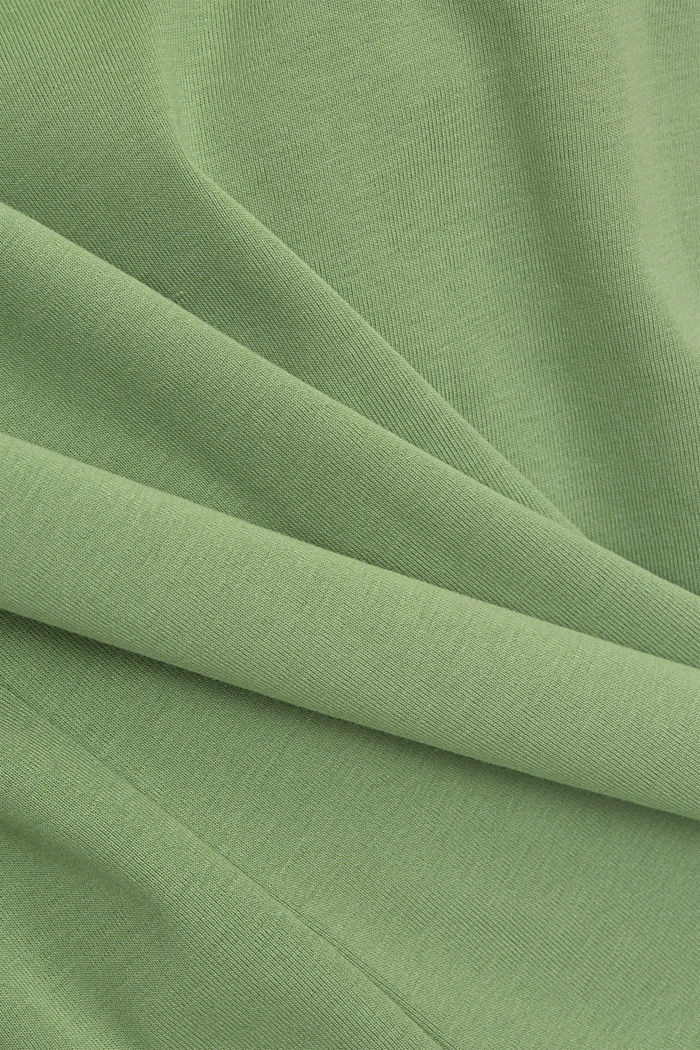 Longsleeve aus 100% Organic Cotton, LEAF GREEN, detail image number 4