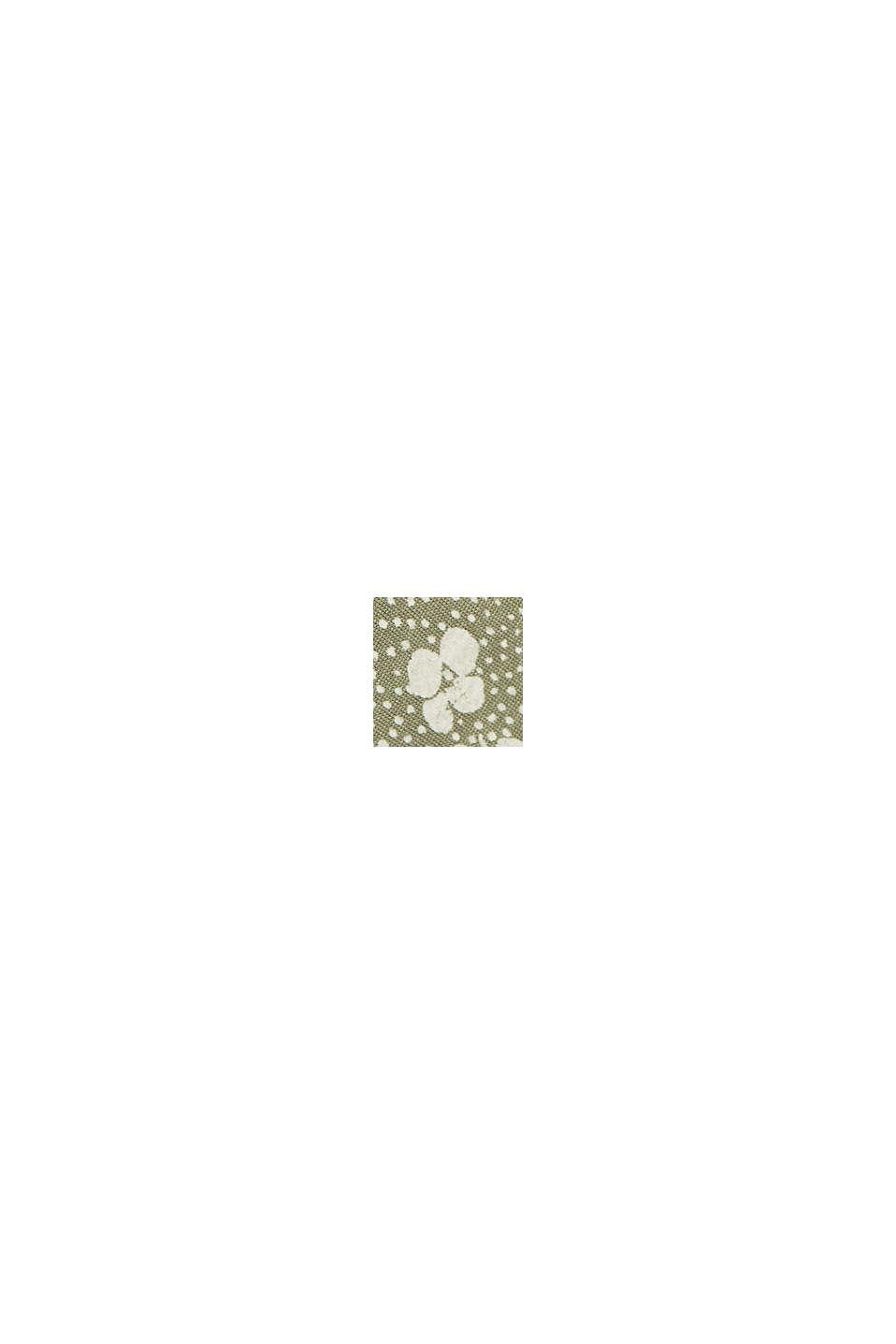 Jersey long sleeve top made of LENZING™ ECOVERO™, LIGHT KHAKI, swatch