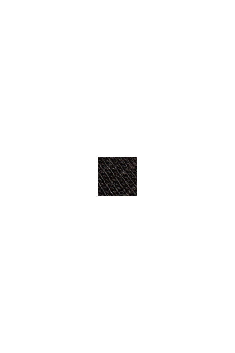 T-shirt rayé, 100 % coton bio, BLACK, swatch