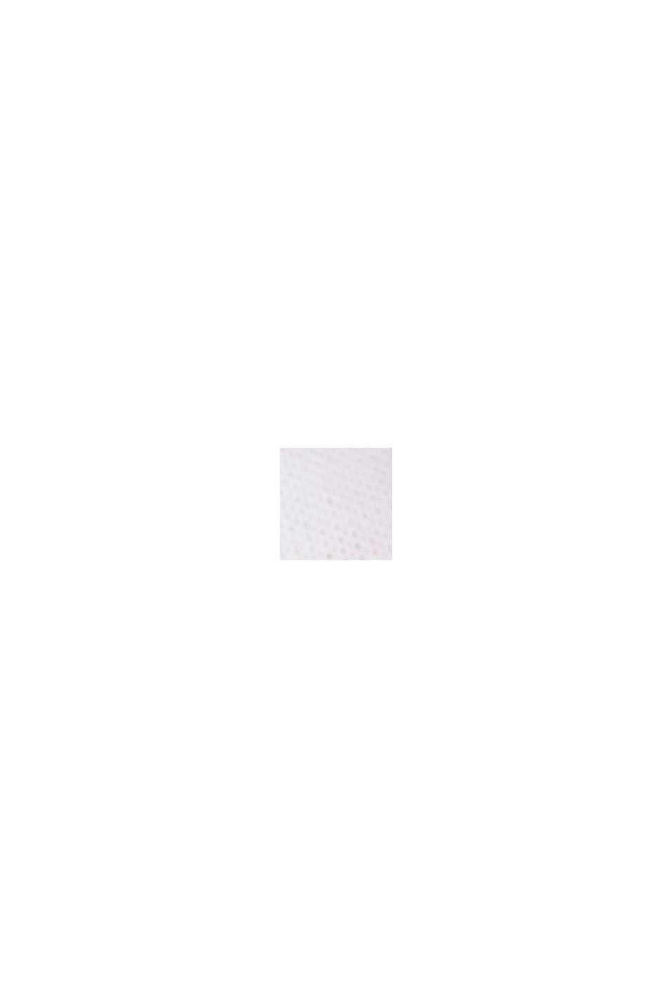 T-shirt rayé, 100 % coton bio, WHITE, swatch